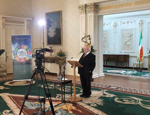 President launches Seachtain na Gaeilge 2021