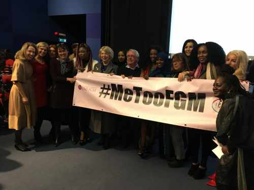 Sabina Higgins Attends Fgm Campaign Launch