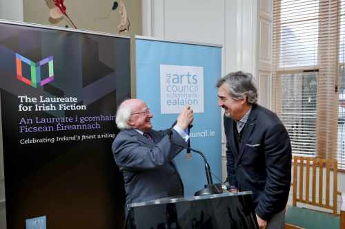 President Announces The Second Laureate For Irish Fiction 2018 – 2021