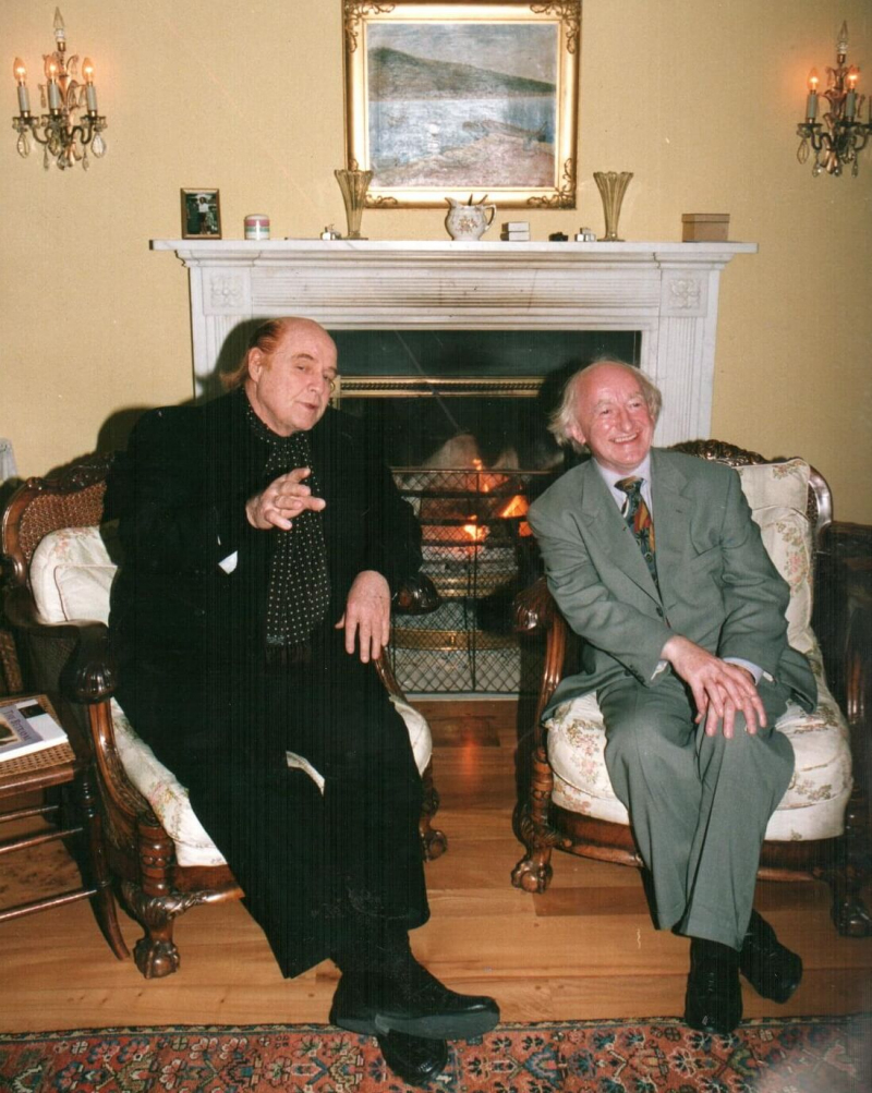 Michael D with Marlon Brando