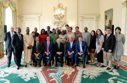 President meets delegates from UN Conference on Trade and Development (UNCTAD)