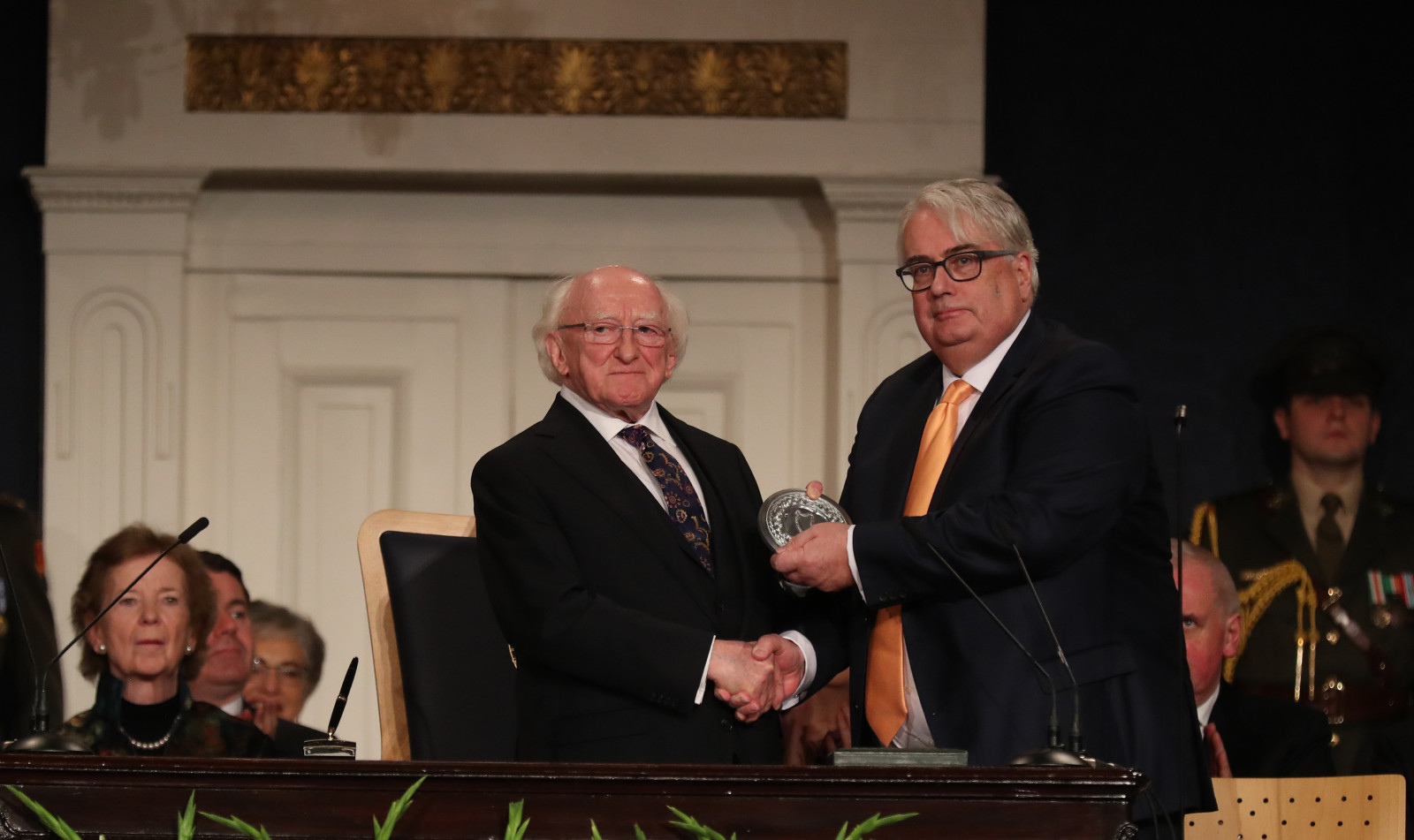 Inauguration of President Michael D. Higgins