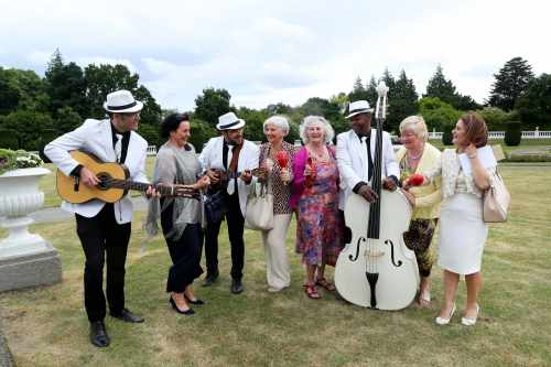 President hosts a North South Community Groups Garden Party