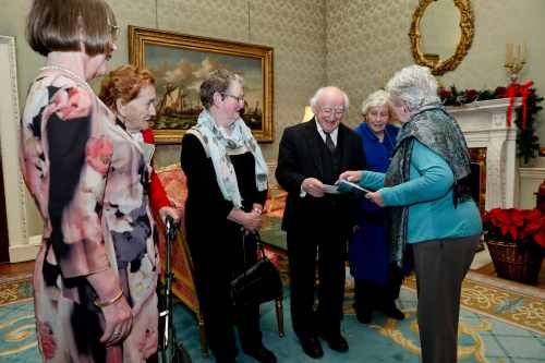 President Hosts An Afternoon Tea Reception For Active Citizens Groups