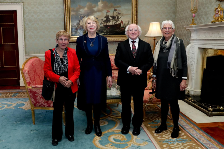 "President hosts a reception ""Desertification - Ireland's Role in this Global Challenge"""