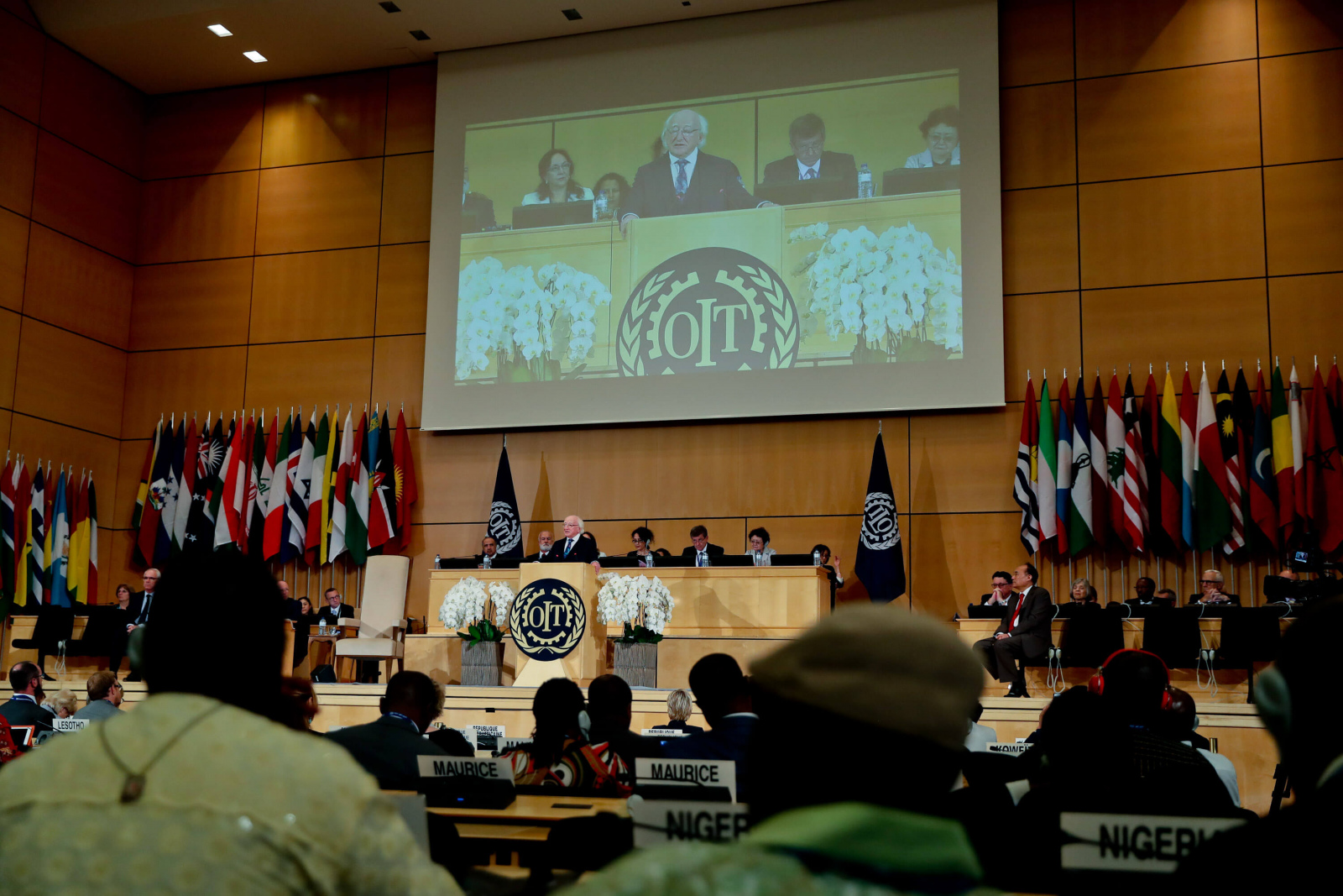 President delivers keynote address at ILO World of Work Summit