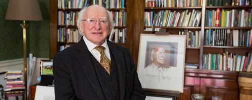 "Centenary Programme Guide ""a Welcome From Your President, Michael D. Higgins"""