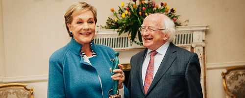 President Receives Dame Julie Andrews