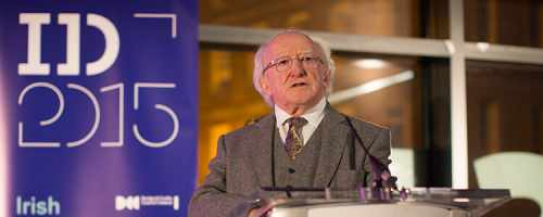 President Launches The Liminal   Irish Design At The Threshold Exhibition