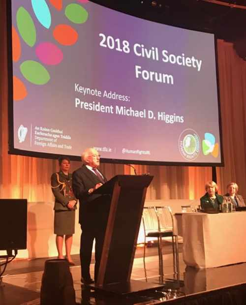 President delivers keynote address at the Civil Human Rights Forum on the theme of the 70th Anniversary of the Universal Declaration of Human Rights
